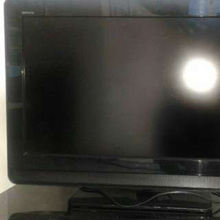 USED Sony Bravia screen size 32 inch.