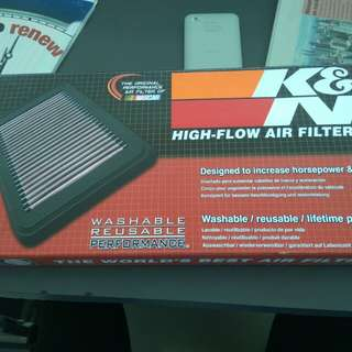 K&N Mini Cooper High performance drop in Air Filter
