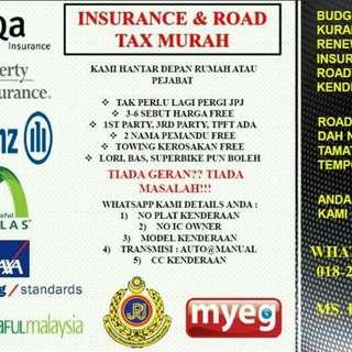 Insurance & Road Tax Service