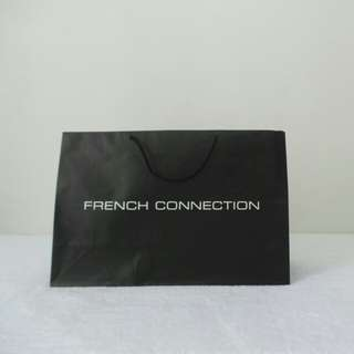 French Connection Paper Bag