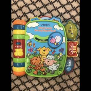 Vtech Animal Friends Nursery Rhymes Book