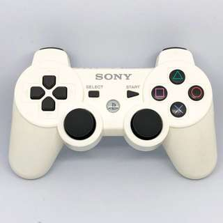 Sony PlayStation 3 DualShock 3 Controller PS3 手制 (White/白色)