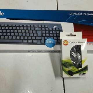 Termurah paketan keyboard usb & mouse usb
