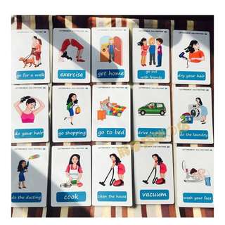👍🏻 🌈DAILY ROUTINES🌈FLASH CARDS(41PCS)