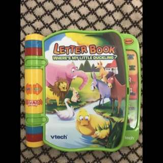 Vtech Letterbook Where's My Little Duckling?