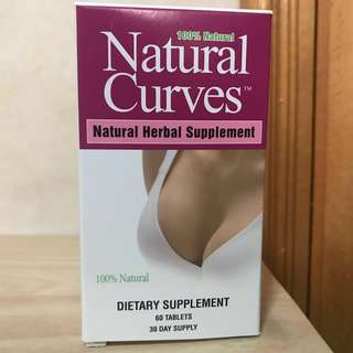 3支包豐順到自取 👙豐胸👙 Biotech™ Corporation Natural Curves™ Breast Enhancement (60粒) (購自GNC)