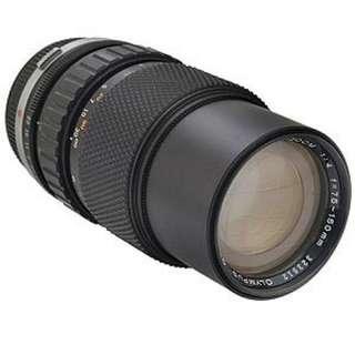 Olympus OM 75-150mm f/4
