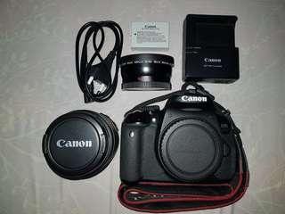 Preloved: Canon 650D