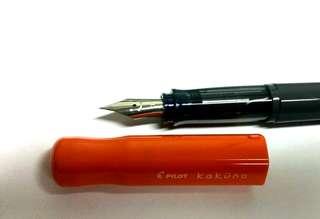 Pilot Kakuno fountain pen (F nib)