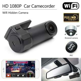 Car Camera DVR WIFI Video Recorder Dash Cam full hd 1080P Night Vision G-sensor Digital Camcorder