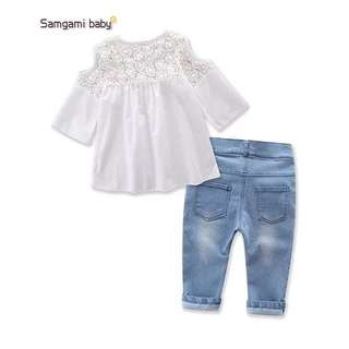 Top and pants set girl