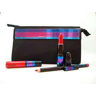 MAC Enchanted Eve Red Lip Bag (2015 Holiday Edition)