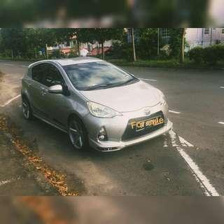 Toyota prius c trd sportivo