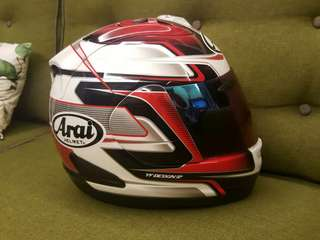 Arai RR5 RX7 Pedrosa Gp Red