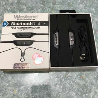 Westone Bluetooth cable 冇保養