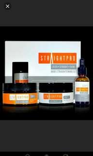 MENSIVE STRAIGHTPRO Hair Straightening Set