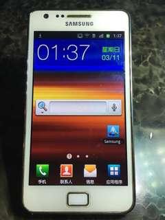 Samsung S2 i9100 二手手機 (沒有繁體)