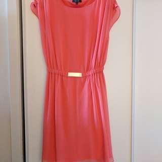 RW&co pink dress