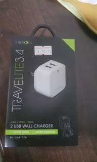 Travel USB charger