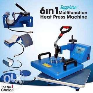 6in1 heatpress machine