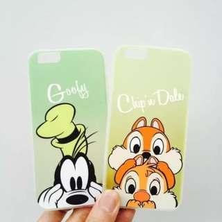 🎉購買兩個以上特價🎉 Iphone case - Goofy & Chip'n Dale 高飛 & 鋼牙大鼻 電話殼