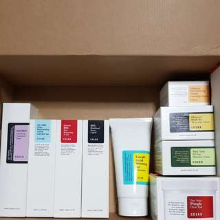 Cosrx skincare (full set)