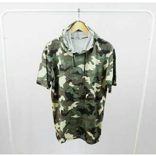 Atasan hoodie army ori steigen