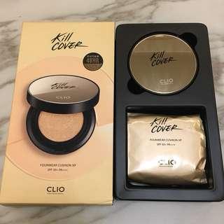 Clio超持久氣墊粉餅加強版
