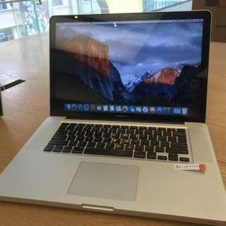MacBook Pro 15 inch Mid 2010 95% New