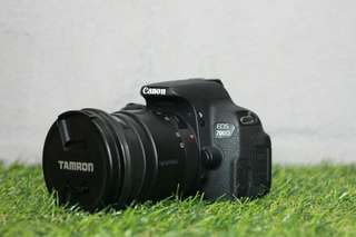 Canon 700D Body With Tamron 20-40mm Lens