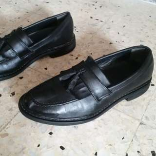 BOY LONDON Full Leather shoes.size UK7.still like new shoes.Rm50 only.