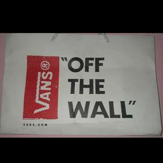 Paper Bag VANS ORIGINAL