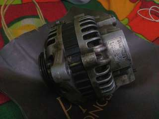 ALTERNATOR PROTON PERDANA V6 ORIGINAL(FAULTY BECAUSE LEAKING)