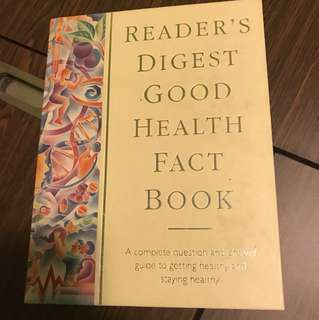 Reader's Digest Good Health Fact Book