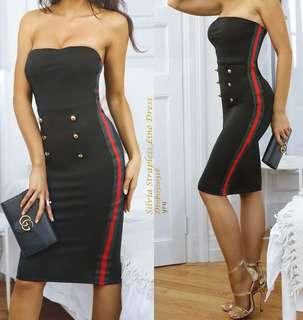 strap line dress