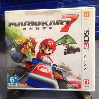3DS 港版 Mario Kart 7 瑪利歐賽車7 中文版