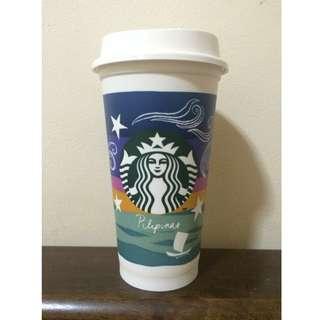 Starbucks Kape Vinta Reusable Cup