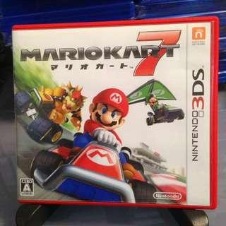 3DS 日版 Mario Kart 7 瑪里奧賽車7