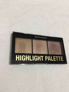 Highlight palette (swatched)