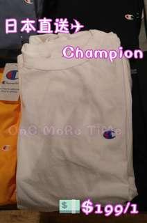 🇯🇵日版Champion Small Logo