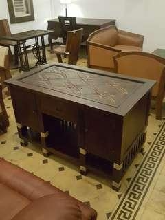 Meja kerja solid antik