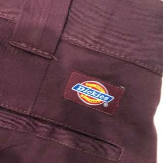 "Dickies Workpants 35"" Maroon"