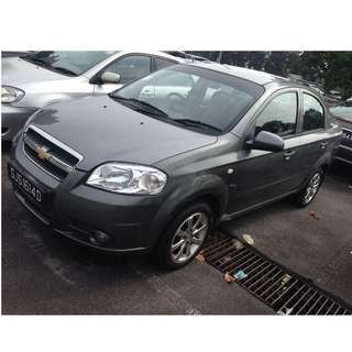 [$36PER DAY] CHEVROLET AVEO 1.4AUTO - OPEN 20 MAR