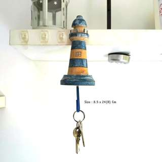Light House Key Towel Holder Gantungan Kunci
