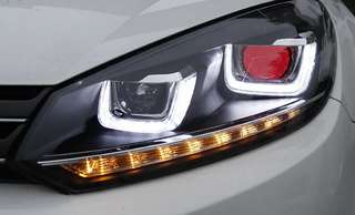 Volkswagen Golf Mk6 Styling Head Lamp