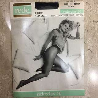 Rede sheer to waist pantyhose with gradual compression actioN