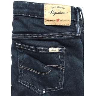 LEVIS Signature black jeans