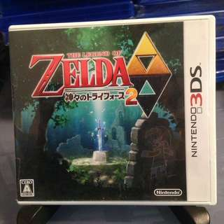 3DS 日版 The Legend of Zelda 薩爾達傳說 眾神的三角神力2