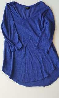 Dynamite blue shirt