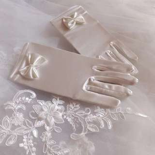 BN Wedding White Gloves